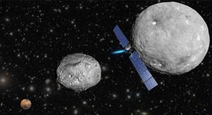 Was sind Asteroiden und Kometen und wie beobachtet man diese? (Credit: NASA / JPL)