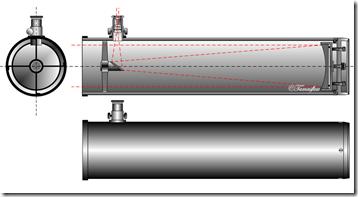 Newton-Teleskop - Autor: Szőcs Tamás Tamasflex