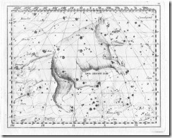 Sternbild Großer Bär (Bärin)