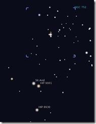 Sternbild Andromeda - Astronomie