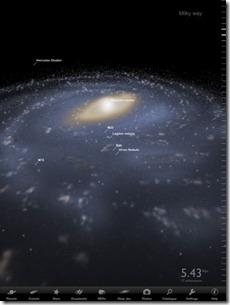 Spacemap App iPad - Astronomie