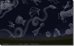 Hydraiden im Sternbild Wasserschlange
