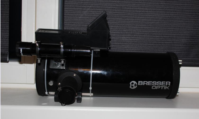 Der sucher finder am teleskop clear sky blog