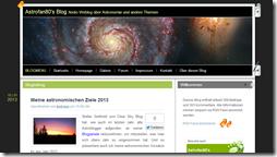 Astronomie auf Astrofan80's Blog