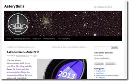 Astronomie auf Asterythm
