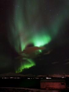 Daniel Fischer - Polarlicht-Substurm über Tromsø am 28. Januar 2014