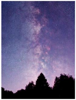 The Milky Way over Eifel National Park - Nationalpark Eifel (Sternenpark)