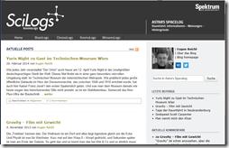 Astra's Spacelog - Scilogs