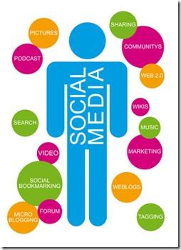 Social Media Männchen