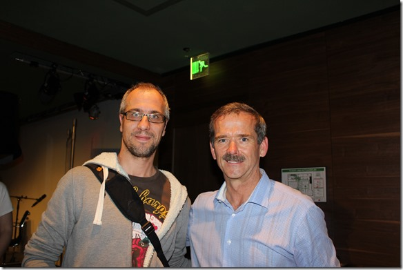 Chris Hadfield in Berlin