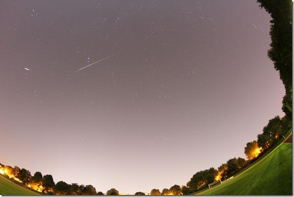 Orioniden Sternschnuppen Oktober 2014