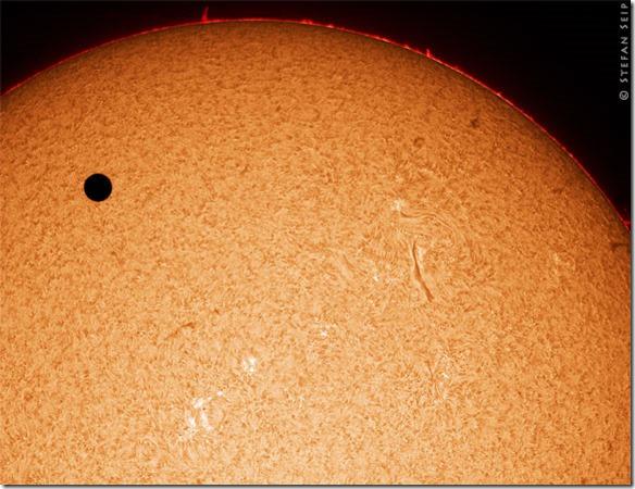 Stefan Seip - Venus Transit Sonne