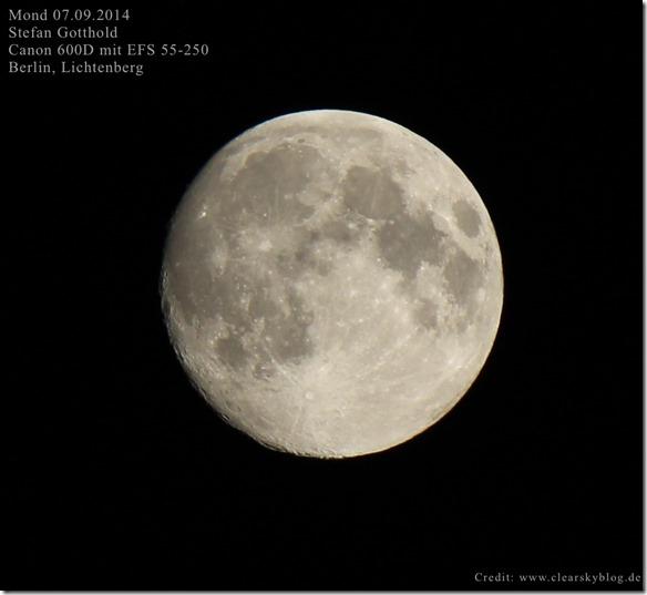 Mond-Einzelframe