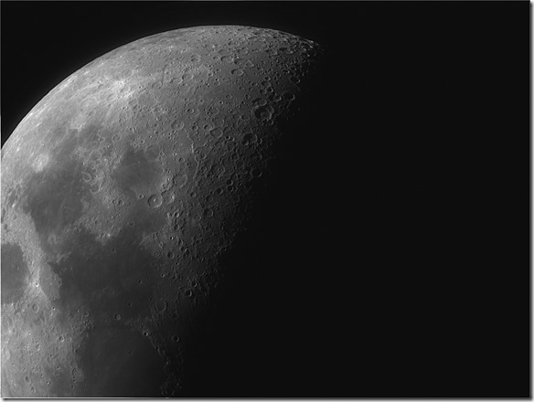 Mond 28.12.2014 aus Berlin heraus
