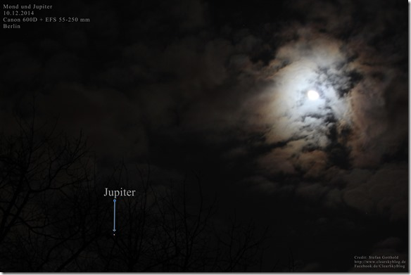Mond Jupiter