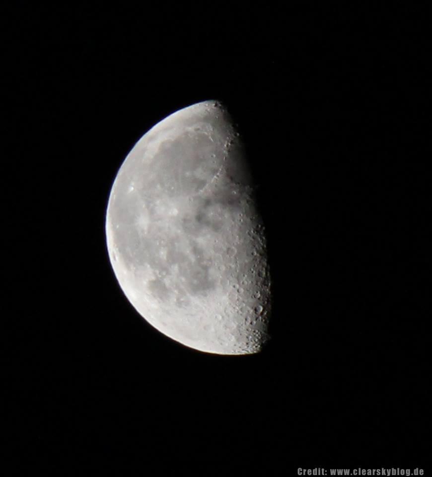 Foto: Mond18.70.2014 - mit Canon 600D und EFS 55-250
