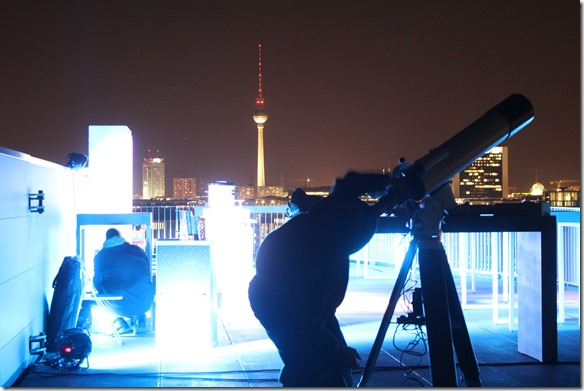 Teleskop und Fernsehturm
