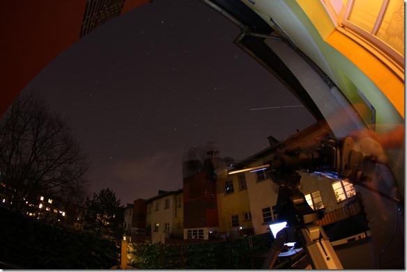 ISS Überflug Berlin