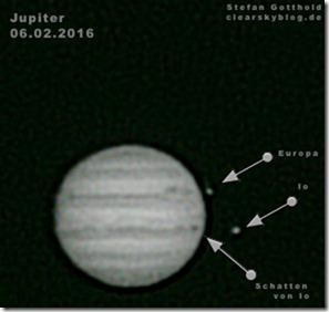 Jupiter Astrofotografie