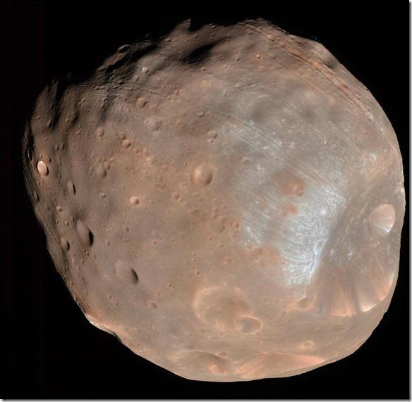 Mars Mond Phobos