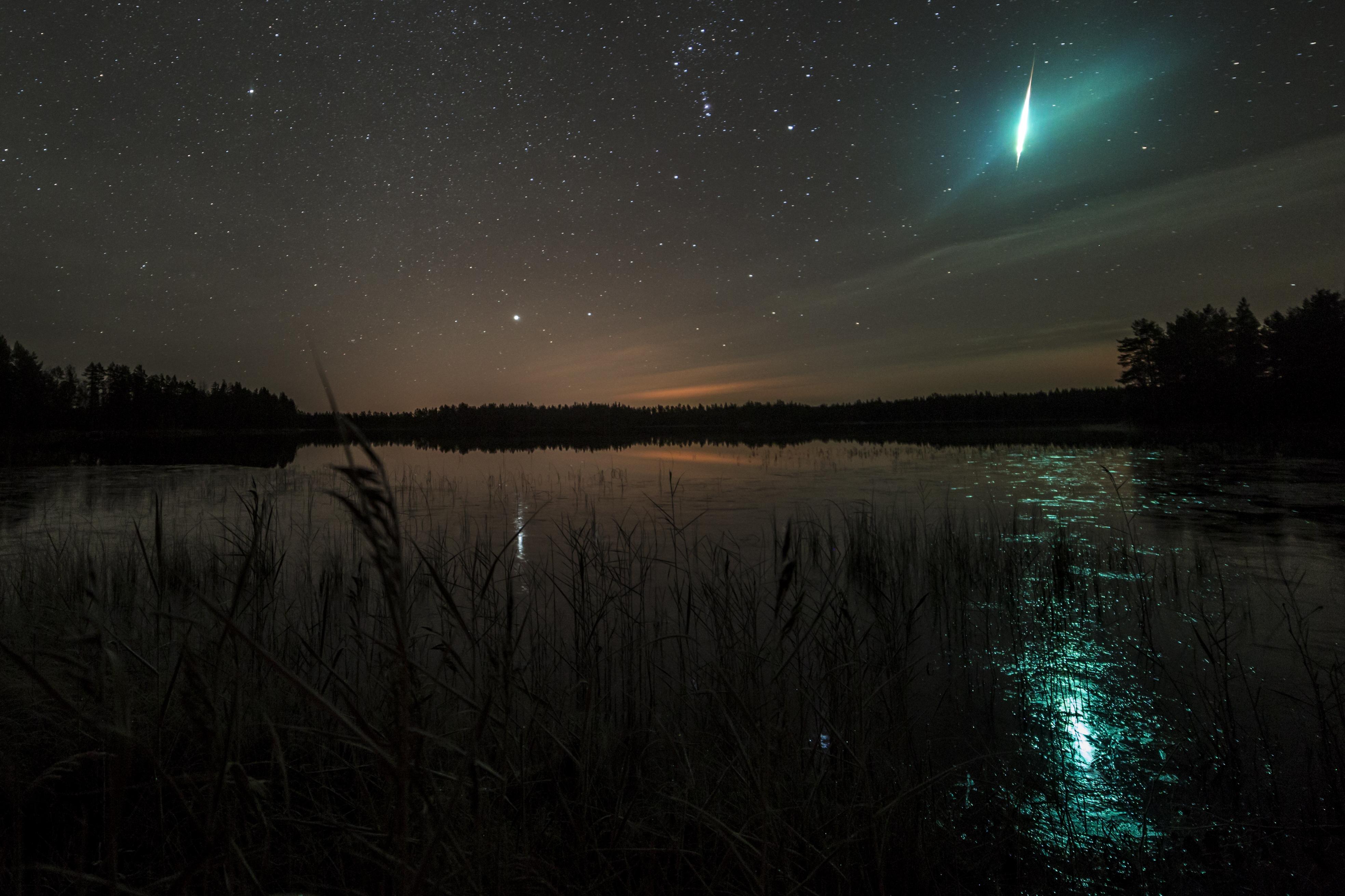 Feuerball über Schweden