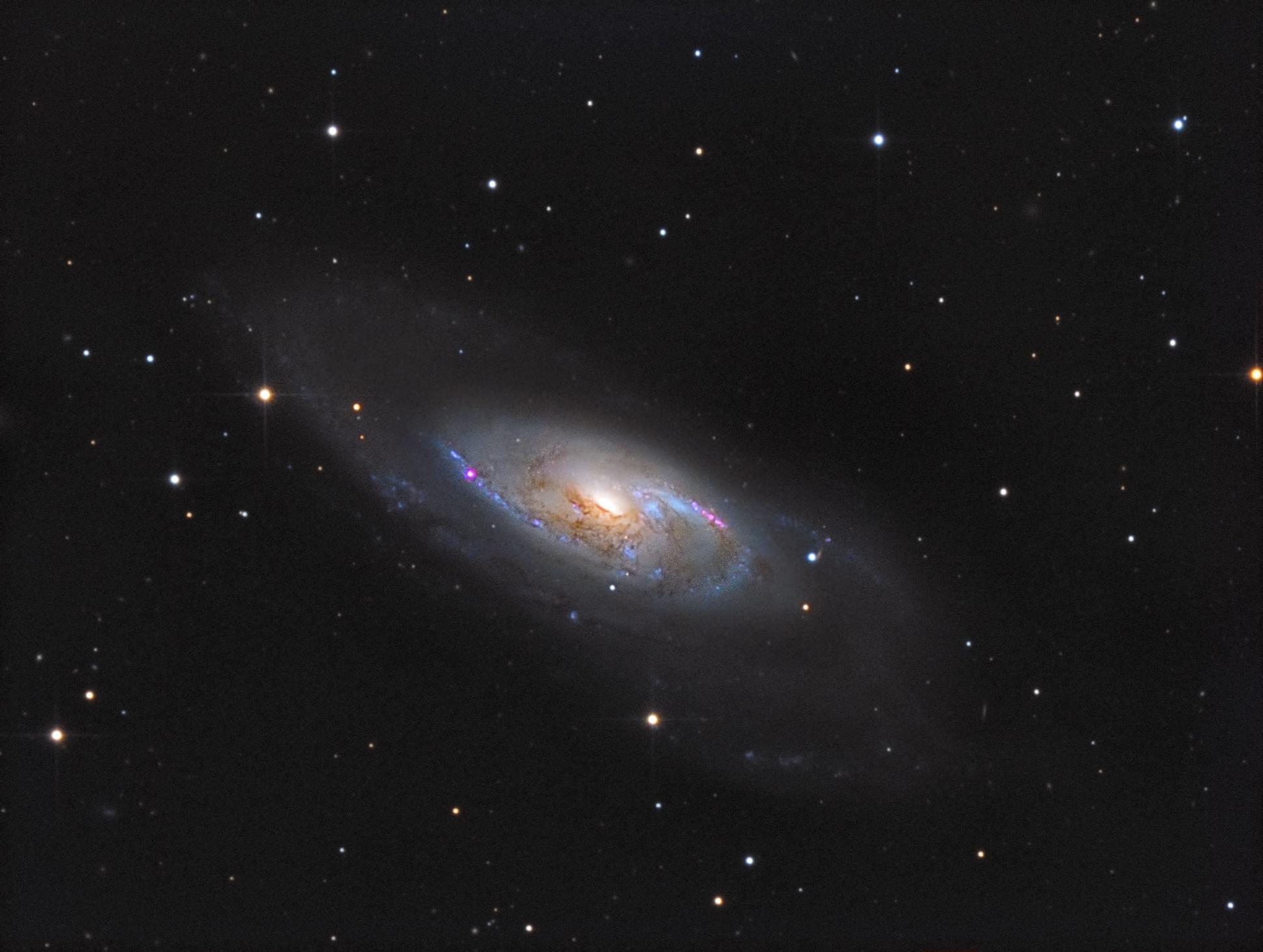 M106 Spiralgalaxie