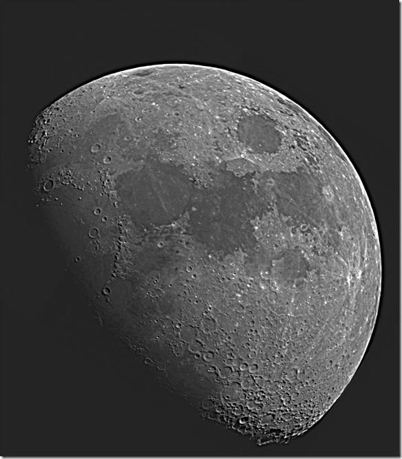 Mond am 17.03.2016 Berlin Stefan Gotthold