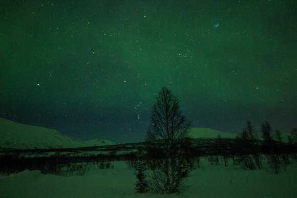 Himmel über Norwegen, Tromsö