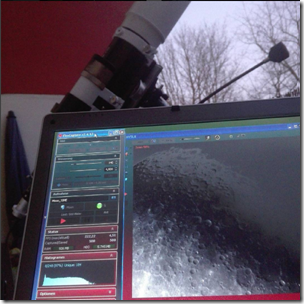 Astrofotografie Mond