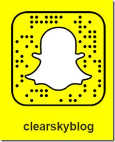 Clear Sky-Blog Stefan Gotthold bei Snapchat