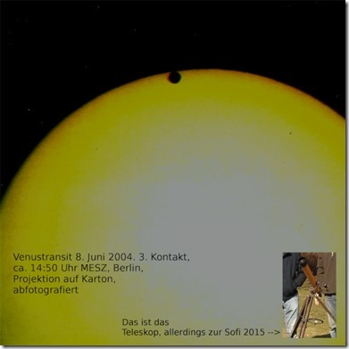Venustransit 2004