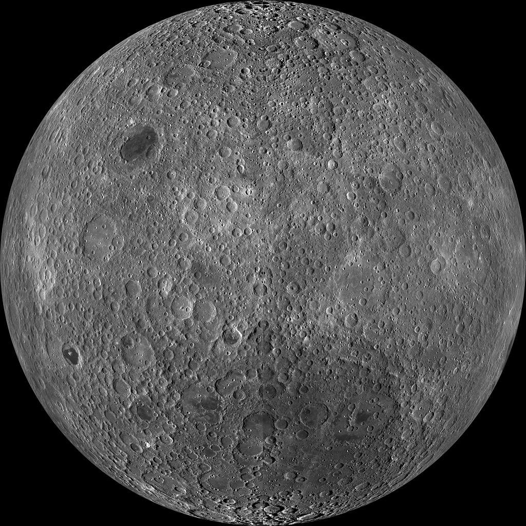 Rückseite vom Mond