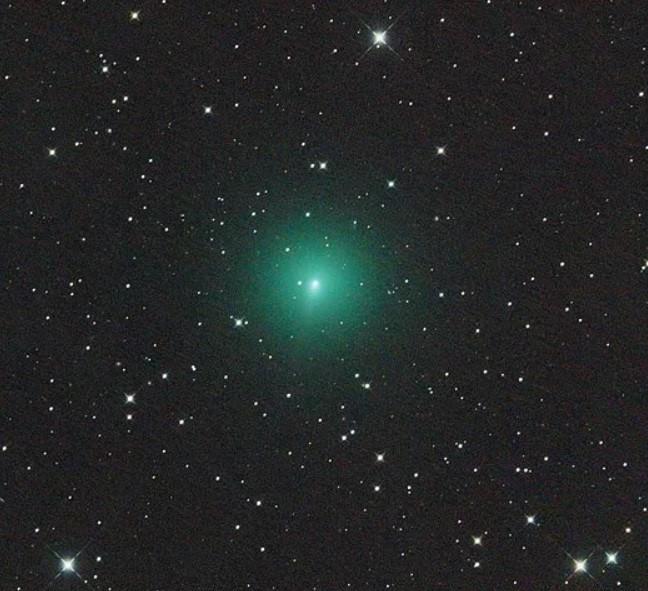 Aufnahme des Kometen C/2019 Y4