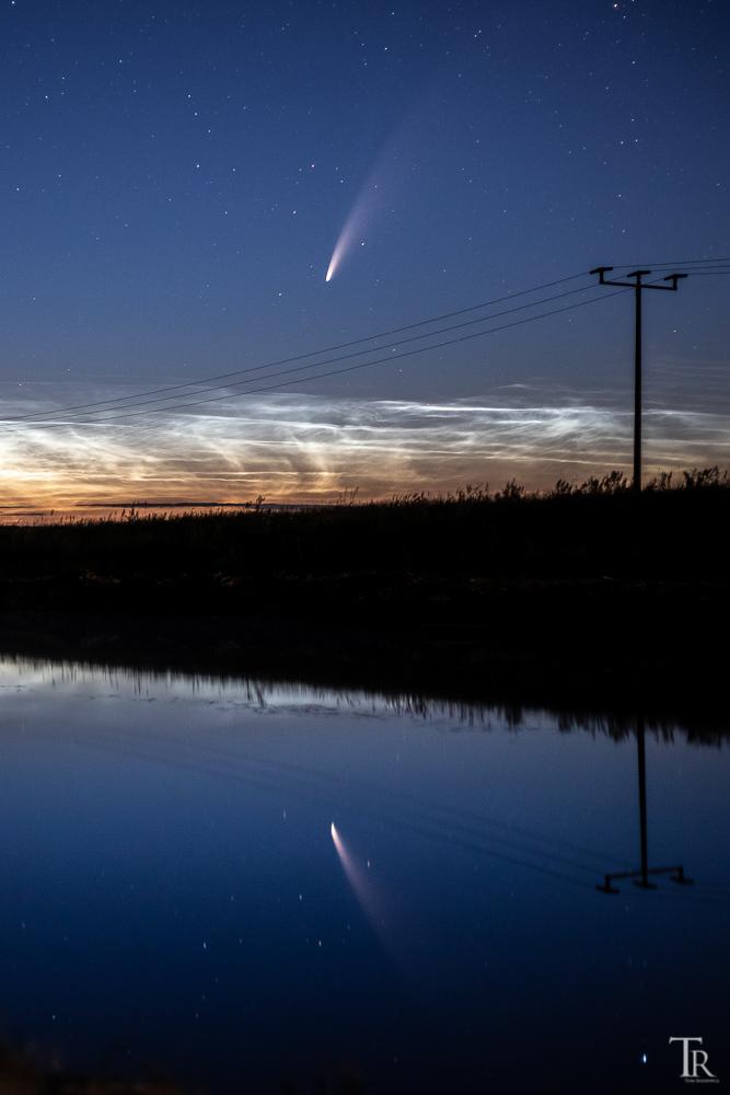 2. Kometenaufnahme Tom